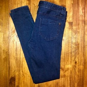 GUESS | Low Rise Dark Wash Skinny Jeans